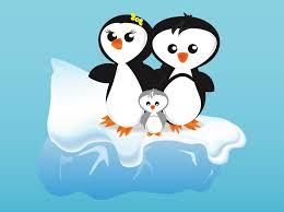 Danielle, Chazz and Matt in penguin form
