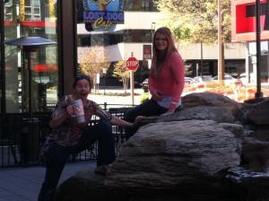 Me and Kristin :)