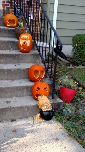 The funniest pumpkins I've ever seen!